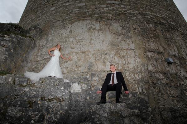 Hochzeit an der Burgmauer